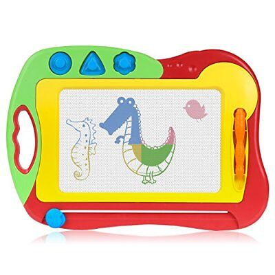 Magnetic Drawing Board, Zooawa Kids Doodle Sketch Arts Craft Erasable Colorful T
