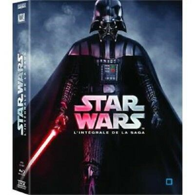Coffret Blue Ray Star Wars l'intégrale - Neuf sous blister