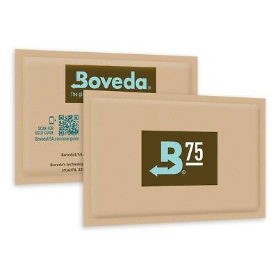 Boveda 2-Way Humidity Control 75% (60 gram) - Pack 1