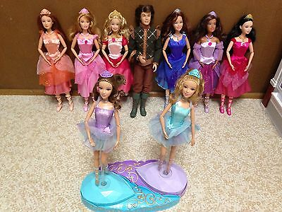 Barbie in The 12 Dancing Princess Ashlyn Courtney Edeline Fallon Blair Genevieve