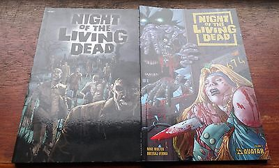 Night Of The Living Dead Graphic Novels #1 and #3