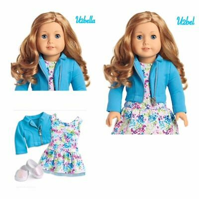 AMERICAN GIRL TRULY ME 33 Doll Light Skin Curly Light Red Hair NEW Style