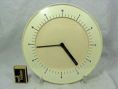 70´s Reinhold Weiss Design Chicago # Junghans Wanduhr / wall clock    working