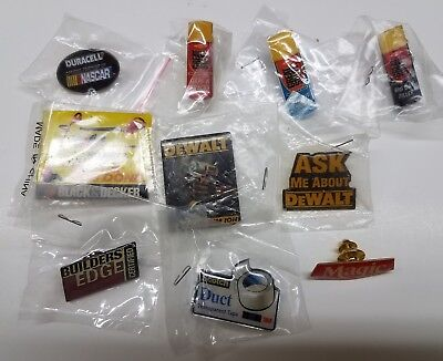 Home Depot Apron/ Lapel Pins lot 10
