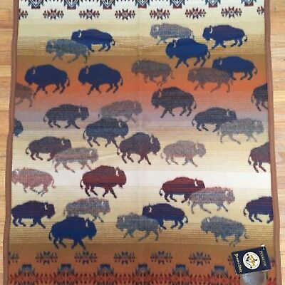 Pendleton Prairie Rush Hour Buffalo Blanket New with tags