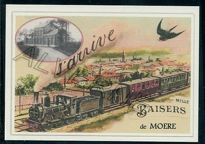 MOERE - train souvenir creation moderne - serie limitee numerotee