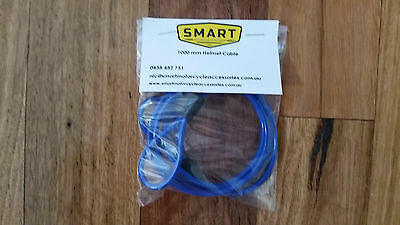 SuperToughMotorcycleRidingGearSecurityCable 1000 mm (Blue)