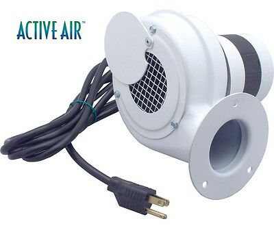 "Active Air 4"" Blower, 60 CFM Great for Small Grow Tents SAVE $$ W/ BAY HYDRO $$"