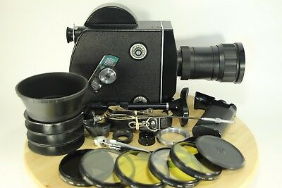 Great! SUPER 16mm RECENTRED LENS KRASNOGORSK-3 KMZ  METEOR-5-1 , K3, WITH SET!
