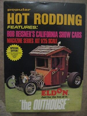 "Original Eldon Kit ""the Outhouse"" Popular Hot Rodding Series"