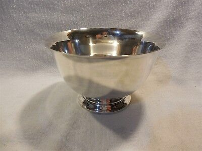 """Tiffany & Co Makers Sterling Silver 5"""" Footed Bowl 23615"""