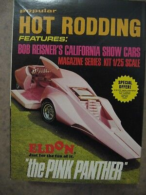 "Original Eldon Kit ""the Pink Panther"" Popular Hot Rodding Series"