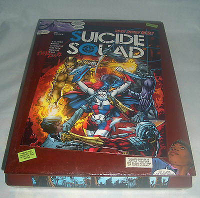 Suicide Squad Comic Book Recycled Wooden Cigar Box