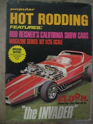 "Original Eldon Kit ""the Invader"" Popular Hot Rodding Series"