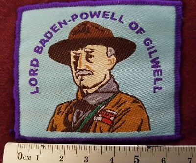 scout badges LORD BADEN-POWELL