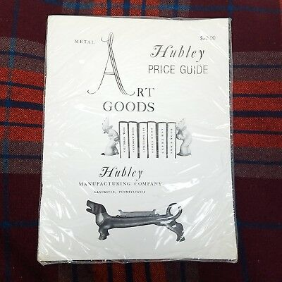 Hubley Art Goods Collectors Price Guide Metal Lancaster PA 1985 Rittenhouse Book
