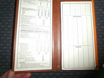 Ss Normandie  ,/french Line  Bridge Scoring Pad Unused