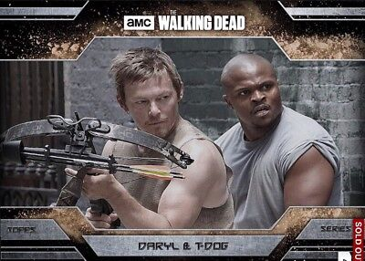 ALLEGIANCE SERIES 2 DUST DARYL & T-DOG The Walking Dead Card Trader Digital