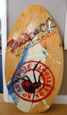 NEW & UNUSED Redback Plywood Skimboard 37""