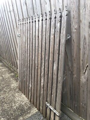 Hinged Gate With Latch  -  Very Sturdy!!!