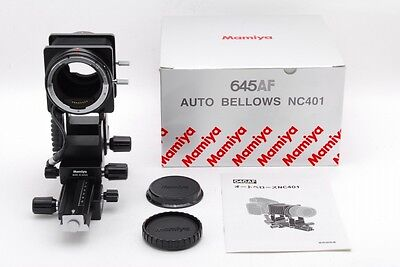 TOP MINT Mamiya 645AF Auto Bellows NC401 for AF AFD II III ZD DF From Japan a774