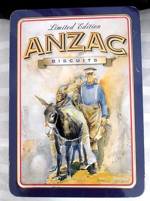 """Anzac Tin"""" The Man With The Donkey""""  Limited Edition Tin"""