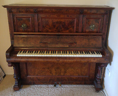 Goers & Kallmann Berlin Upright Piano about 1900