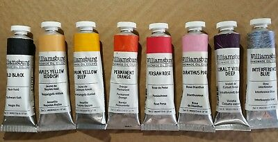 Williamsburg Oil Paint Lot of 8 New