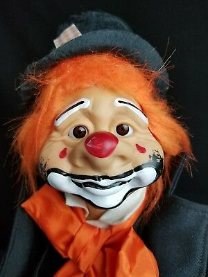 "Dorf Dolls Of America KATZENBERGER W Frank 16"" Vintage Clown RARE Hobo 1976"