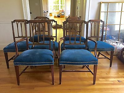 "Federal Dining Chairs 8 2 Arm Chairs & 6 SideChair ""free Local Pickup Ask Table"