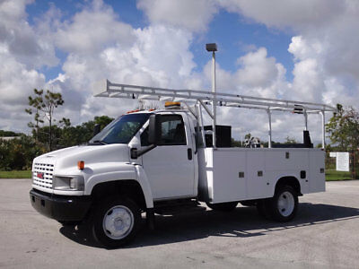 2006 GMC Topkick C5500 Service Utility Body 8.1L V8 Allison Lift Gate Clean Carf