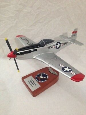 """North American P-51D """"Mustang"""", Texas Air National Guard, scale model"""