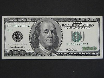 2003A $100 (One Hundred Dollars) - Federal Reserve Note - Currency