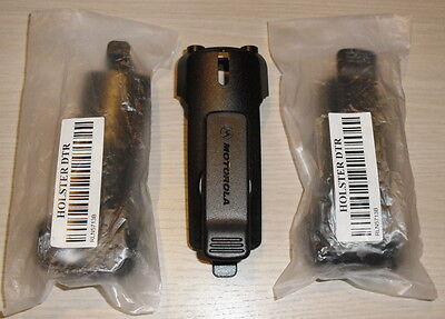 Motorola OEM holster for DTR radio, strong swivel belt clip RLN5713B brand new