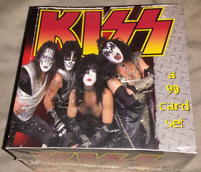 Kiss: 1998 conerstone series 2 full sealed box (band) trading cards