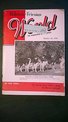 Holstein World 1958 Waterloo Show + Hurlwood Farm Story + Lakeside & Pinehurst
