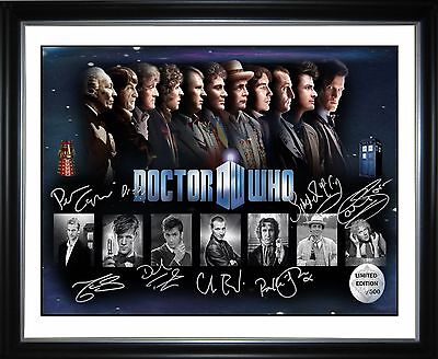 Dr Who Limited Edition Memorabilia