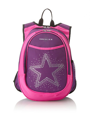 Obersee Kid's All-in-One Pre-School Backpacks with Integrated Cooler, Rhinestone