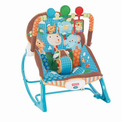 Fisher-Price Infant-to-Toddler Rocker - Jungle Fun