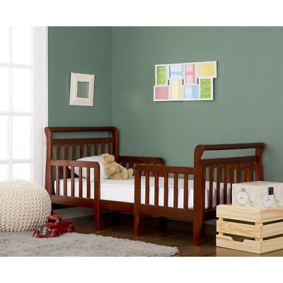 Dream On Me Emma 3 in 1 Convertible Toddler Bed, Espresso
