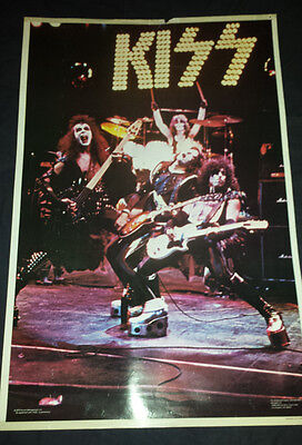 Kiss: 1975 alive poster