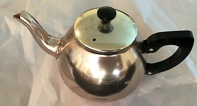 Teapot - Anodised Aluminium - Pink - In Good Condition -  2-3 Cup