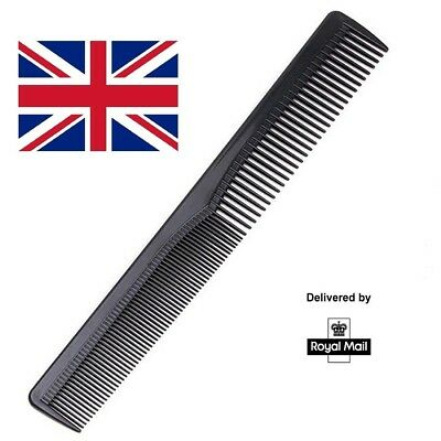 Salon Hair Styling Hairdressing Barbers Pocket Comb Black UK