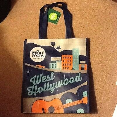 Whole Foods Reusable Bag - Brand NEW With Tags, West Hollywood, CA, Los Angeles