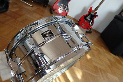 """1975 SONOR PHONIC Snare Drum 14"""" 1. Serie """"Aniversary"""" 1875 - 1975"""
