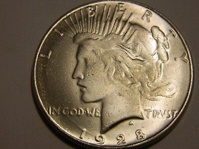 1928 USA Peace Dollar Two Face Coin  ----- NR No Reserve