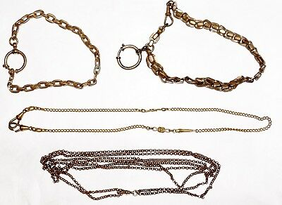 Various Necklaces, Watch chains, and similar. No knowledge about these. READ!!