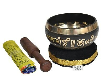 Dharma Store - Tibetan Meditation Singing Bowl for Relaxation and Healing - With