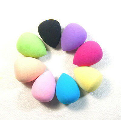 10 x Makeup Foundation Sponge Blender Puff Flawless Powder Smooth Beauty mini GN