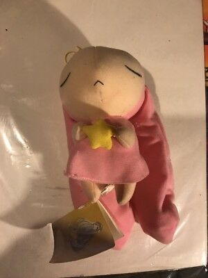 AUTHENTIC* CHOBITS BIG Atashi Pink Bunny Plush Doll CLAMP GREAT EASTERN